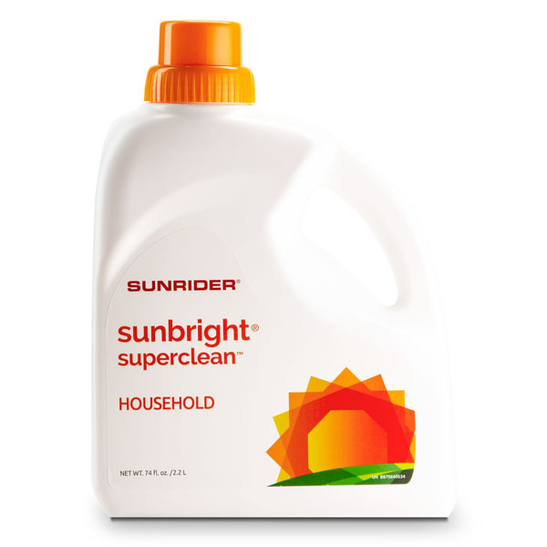 SUNBRIGHT<sup>®</sup> SUPERCLEAN<sup>™</sup> HOUSEHOLD 1890 mL, Bottle