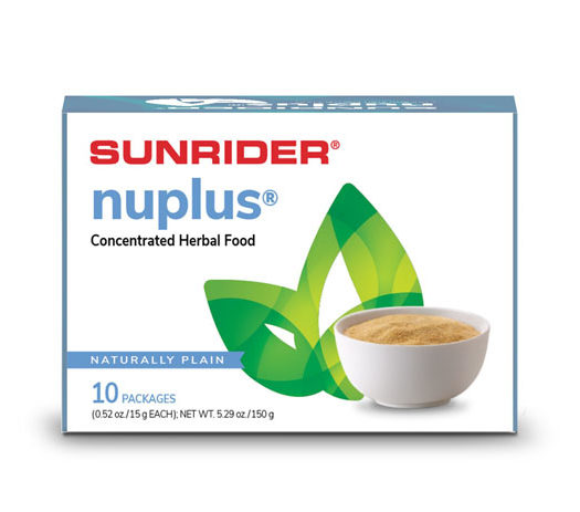 NUPLUS<sup>®</sup> – NATURALLY PLAIN, MIXED BERRY, PIÑA COLADA & APPLE CINNAMON 60/15g Packages